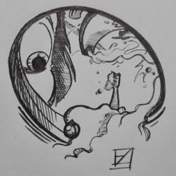 21. Drain - Inktober 2018
