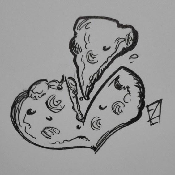 31. Slice - Inktober 2018